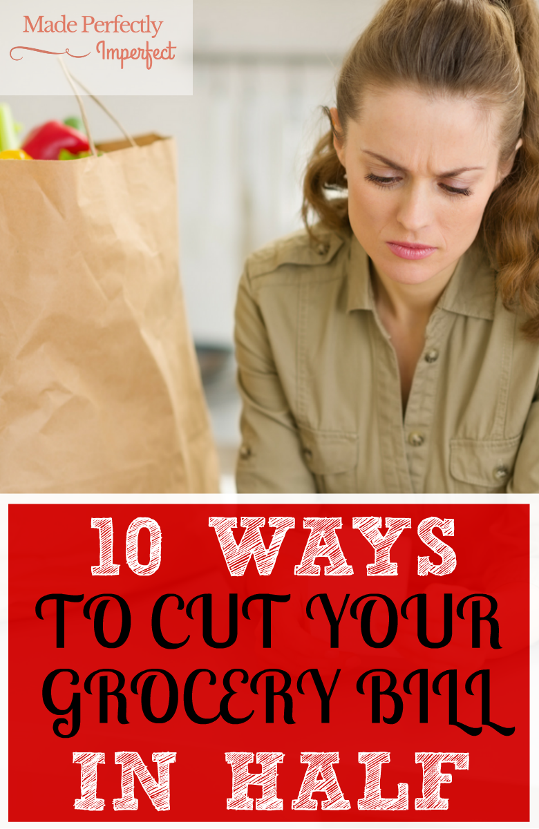 10 WAYS TO NOT OVERSPEND ON GROCERIES This is an awesome plan to keep me on my family budget. I love the planning tip! Check this out if you too want to save money!