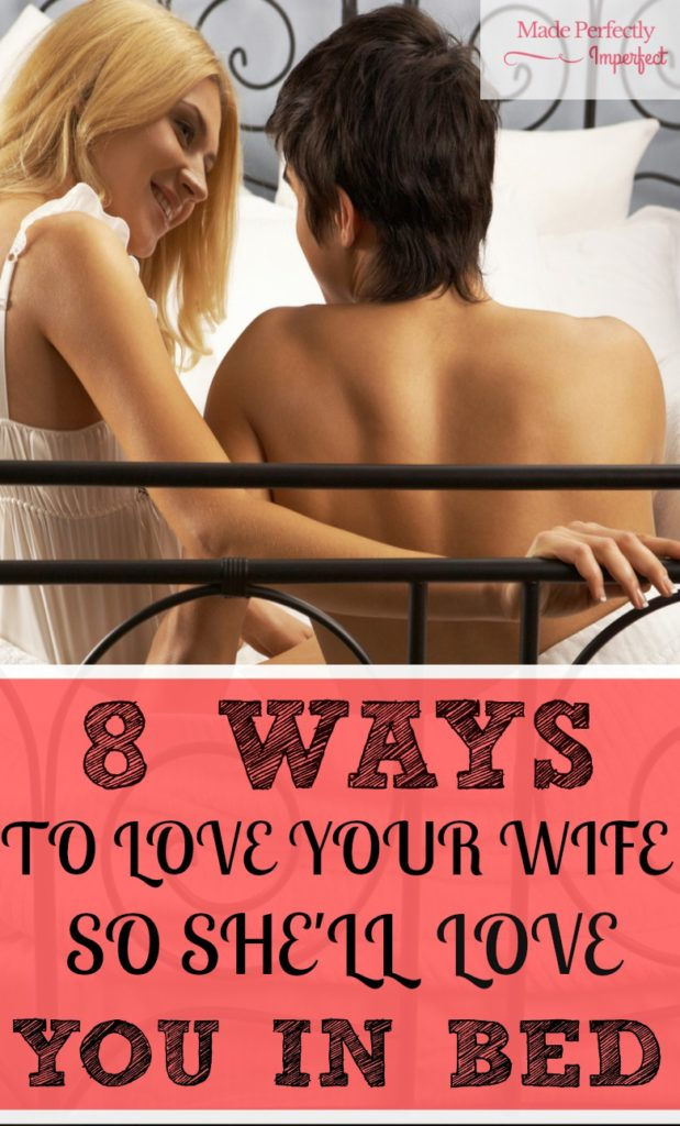 8 WAYS TO LOVE YOUR WIFE ON AN EMOTIONAL LEVEL SO SHE'LL LOVE YOU IN BED Wow this really helps me understand my wife better. Such a good read!