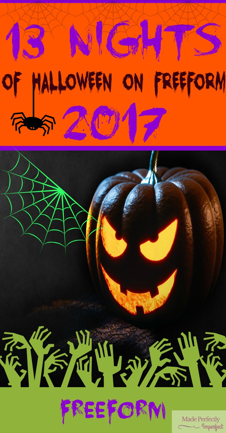 Family Party Games >> 13 Nights of Halloween On Freeform 2017 - Made Perfectly ...